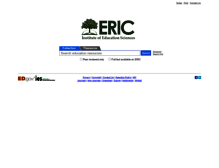 eric.ed.gov screenshot