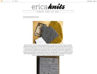 erica-knits.blogspot.com screenshot