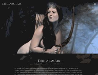 ericarmusik.com screenshot
