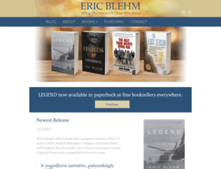 ericblehm.com screenshot