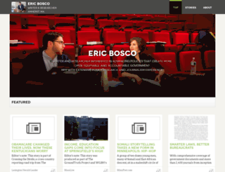ericbosco.pressfolios.com screenshot