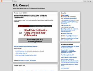 ericconrad.com screenshot