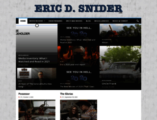 ericdsnider.com screenshot