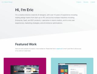 ericgnelson.com screenshot