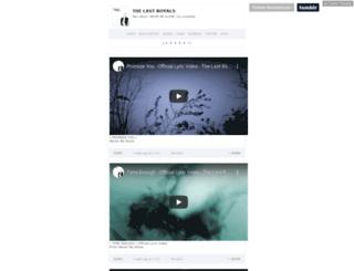 ericjames.com screenshot