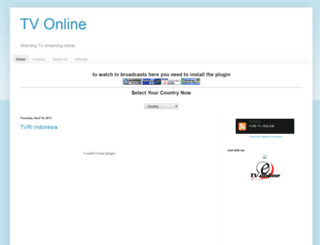 erick-watchingtvonline.blogspot.com screenshot