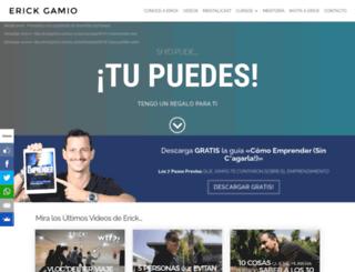 erickgamio.com screenshot