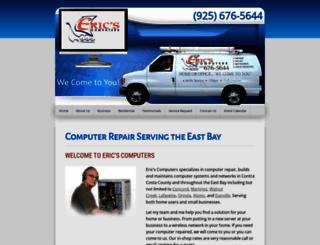 ericscomputers.com screenshot