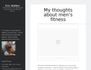 ericwalkerblog.com screenshot