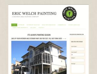 ericwelchpainting.com screenshot