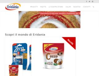 eridaniaitalia.it screenshot