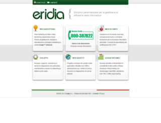 eridia.it screenshot