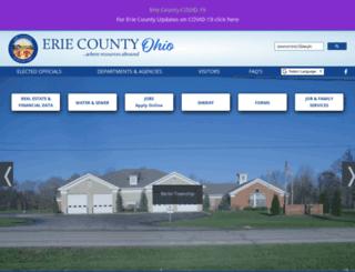 erie-county-ohio.net screenshot