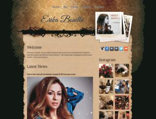 erikabonilla.com screenshot