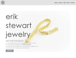 erikstewartjewelry.com screenshot