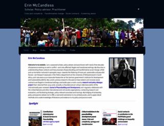 erinmccandless.net screenshot