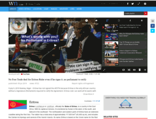 eritreatrade.com screenshot