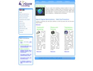 erixonconsulting.com screenshot