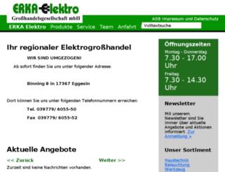 erka-elektro.de screenshot