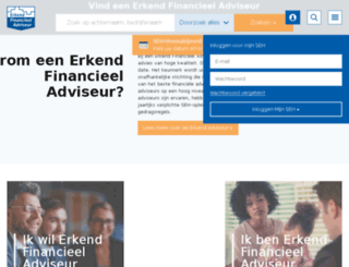 erkendhypotheekadviseur.nl screenshot