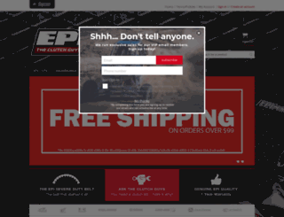 erlandsonperformance.com screenshot