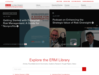 erm.ncsu.edu screenshot