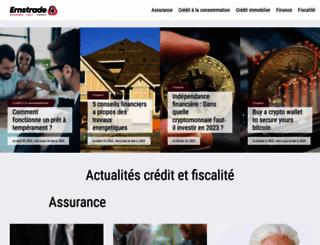 ernstrade.com screenshot
