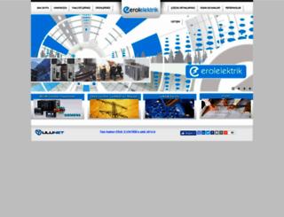erolelektrik.com.tr screenshot