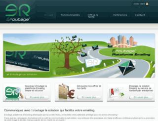 eroutage.com screenshot