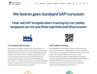 erp-training.com screenshot