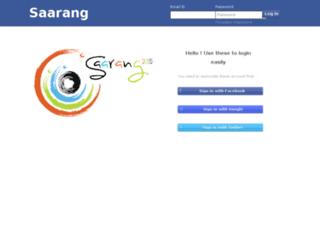 erp.saarang.org screenshot