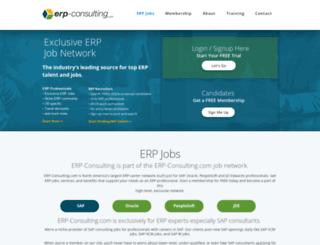 erpjobsite.com screenshot