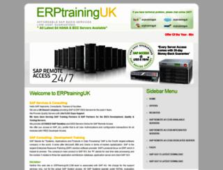 erptraininguk.net screenshot