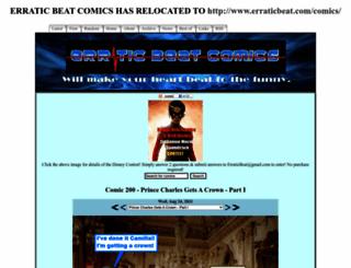 erraticbeat.thecomicseries.com screenshot