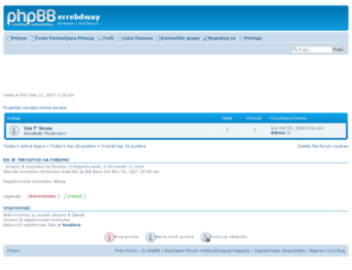 errebdway.7forum.net screenshot