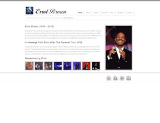 errolbrown.com screenshot