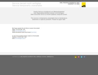 error.uni-graz.at screenshot
