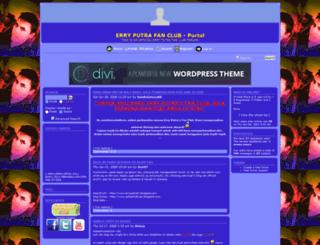 erryputrafanclub.forumotion.com screenshot