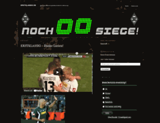 erstklassig.wordpress.com screenshot