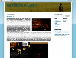 ertekesfilmek.blogspot.hu screenshot