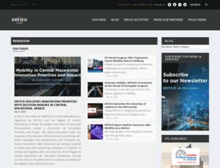 erticonetwork.com screenshot