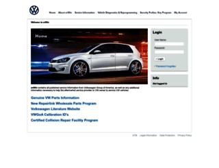 erwin.vw.com screenshot
