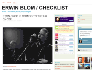 erwinblom.nl screenshot