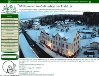 erzgebirge-onlineshop.de screenshot