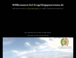 erzgebirgspanorama.de screenshot