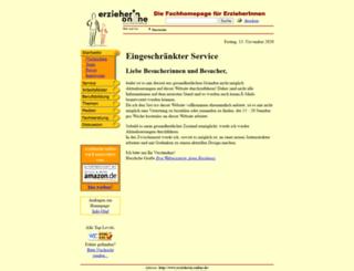 erzieherin-online.de screenshot