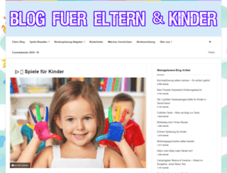 erziehung-kinder-familie.de screenshot