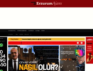 erzurumajans.com screenshot