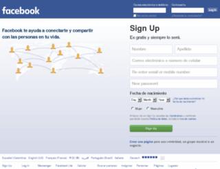 es-co.facebook.com screenshot