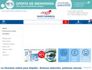 es-farmaline.es screenshot